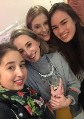 Myself, Niamh, Lisa and Mei Ling