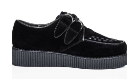 Silk Fred €30 - Josephine Lace Up Flat Platform Creepers http://bit.ly/1JYkAuM