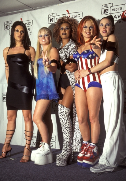Spice Girls VMAs 1997