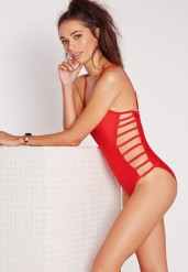 Missguided €35- Strappy side swimsuit http://bit.ly/1Rjnw6O