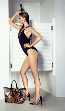 BIBA Kayla Strappy Back swimsuit €71.50, BIBA beach bag €64