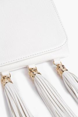 Boohoo €22 - Faith Tassel Trim Fold Over Clutch Bag http://www.boohoo.com/new-in-accessories/faith-tassel-trim-fold-over-clutch-bag/invt/dzz86816