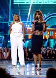 Queen Latifah and Halle Berry