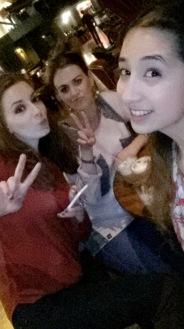 Nicole, Jess and I