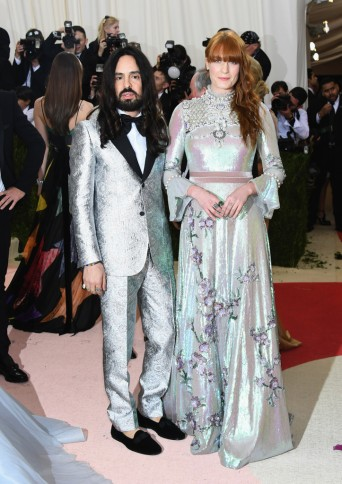 Alessandro Michele & Florence Welch