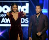Ciara with Ludacris