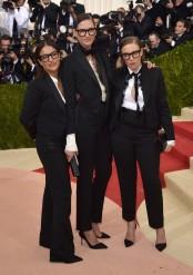 Jennifer Konner, Jenna Lyons, and Lena Dunham