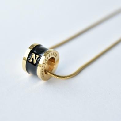 Whistle & Bango €105 - 'N' Alphabet Necklace http://bit.ly/21OkQkB