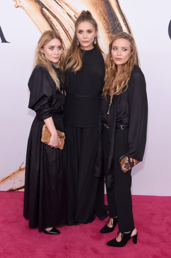 Ashley, Elizabeth & Mary-Kate Olsen