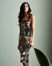 Julien Mcdonald Oriental Print Dress