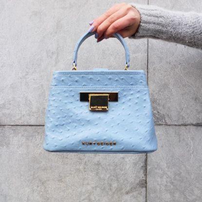 Kurt Geiger €101 - Ostrich Mini Kate Bag http://bit.ly/28Ik7Mh