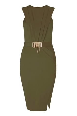 Lipsy @ Next €86 - Love Michelle Keegan Chain Trim Wrap Dress http://ie.nextdirect.com/en/gl63394s3#L47435