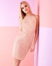 Lipsy Cornelli Apron Bodycon Dress1