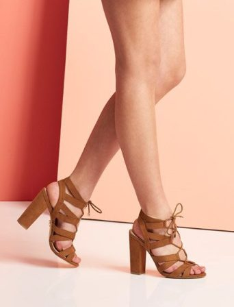 Lipsy €85/£65 - Ghillie Lace Up Block Heel Sandals http://bit.ly/28NGeUK