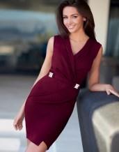 Lipsy Love Michelle Keegan Wrap Dress