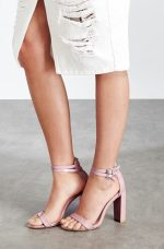 Lost Ink €42/£32 - Block Heel Ankle Strap Sandals http://bit.ly/28MP7O2