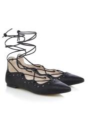 Nine By Savannah Miller @ Next €37 - Ghillie Flat Sandals http://ie.nextdirect.com/en/gl6586s12#L44652