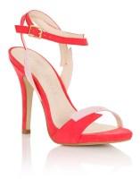 Paper Dolls €62.55/£48 - Ankle Strap Ot Heeled Sandals http://bit.ly/28NEGKB