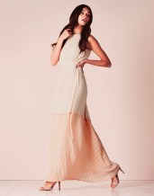 Vila Tie Detail Maxi Dress