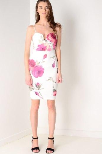Dresses.ie €24.50 - Scuba Floral Midi http://bit.ly/2aLPI1I