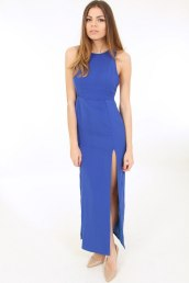 Dresses.ie €12 - Cobalt Slit Full Length Dress https://www.dresses.ie/dress-cobalt-slit-full-length-D106241/