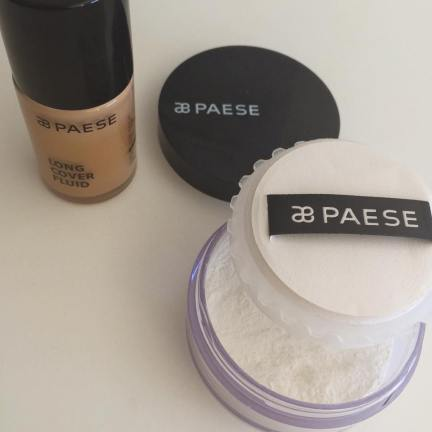 Paese Cosmetics Long Cover Fluid Foundation Rice Powder