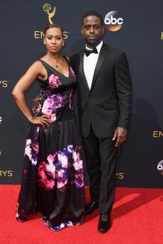 Ryan Michelle Bathe & Sterling K. Brown
