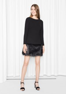& other Stories €85 - Faux Fur Dress http://bit.ly/2eQg0jU