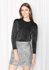 & other Stories €55 - Sparkling Merino Wool Sweater http://bit.ly/2dHNd4X