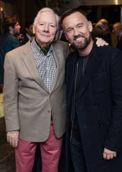 Gay Byrne & Brendan Courtney