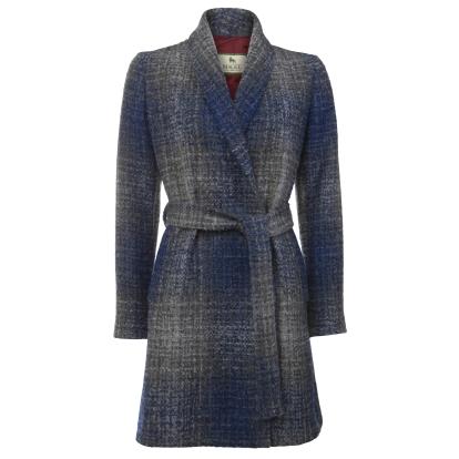 Magee 1866 €375 - Blue & Grey Clooney Cardigan Coat http://bit.ly/2dmX0x4