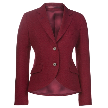 Magee 1866 €379 - Lily Herringbone Tweed Jacket & Corsage http://bit.ly/2eF9QYN