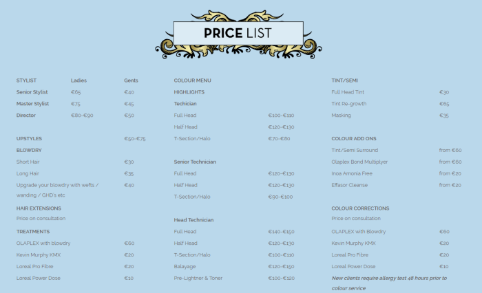 preen-hair-beauty-pricelist