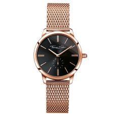 Thomas Sabo €229 - Glam Spirit Watch Rose Gold & Black http://bit.ly/2dyLKd8