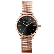 Thomas Sabo €229 - Glam Spirit Watch Rose Gold & Black http://bit.ly/2dyLKd8