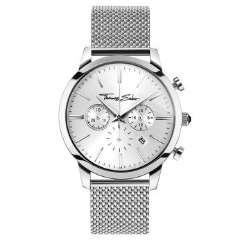 Thomas Sabo €298 - Rebel Spirit Chrono Watch Silver http://bit.ly/2eISoll