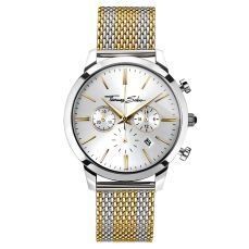 Thomas Sabo €298 - Rebel Spirit Chrono Watch Silver & Gold http://bit.ly/2eavYVQ
