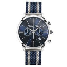 Thomas Sabo €298 - Rebel Spirit Chrono Watch Silver & Navy http://bit.ly/2dZmtKE