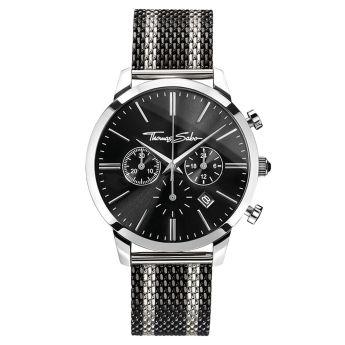 Thomas Sabo €298 - Rebel Spirit Chrono Watch Silver & Black http://bit.ly/2e8ee2s