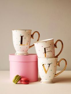 Moss Cottage Alphabet Mug, €18 http://bit.ly/2iFVypW