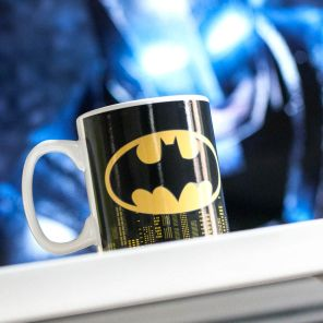 Red5, £9.99 - Heat Changing Batman Mug http://www.red5.co.uk/heat-changing-batman-mug.aspx