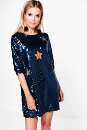 boutique-yasmin-sequin-star-applique-shift-dress