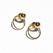 & Other Stories, €15 - Circular Drop Back Earrings http://www.stories.com/ie/Jewellery/Earrings/Circular_Drop-Back_Earrings/582808-118677961.1