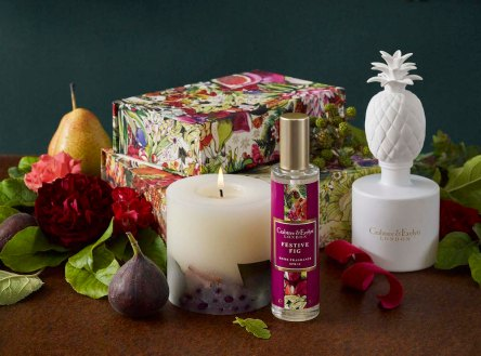 Crabtree & Evelyn, from €16 - Festive Fig Room Spray & Festive Fig Porcelain Diffuser