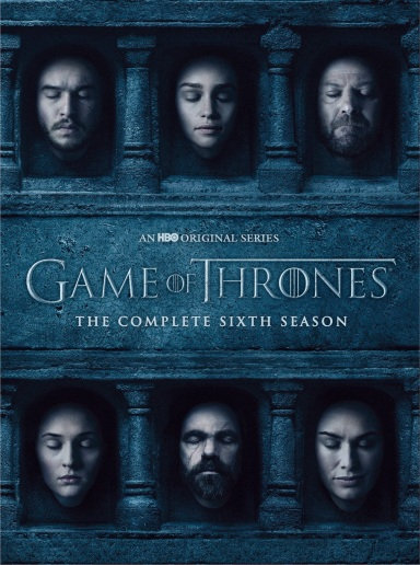 Game of Thrones Season 6 DVD Box Set, €39.99 http://www.towerrecords.ie/product/_GAMEOFTHRONESSEASON6[DVD]/689643