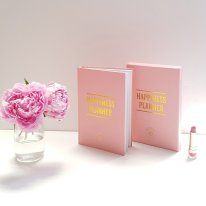 Moss Cottage, €27 - Happiness Planner Notebook http://moss.ie/collections/stationary/products/happiness-planner