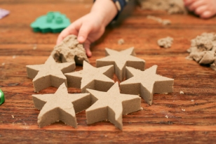 Designist, from €18.50 - Kinetic Sand https://shop.designist.ie/collections/everything/products/kinetic-sand