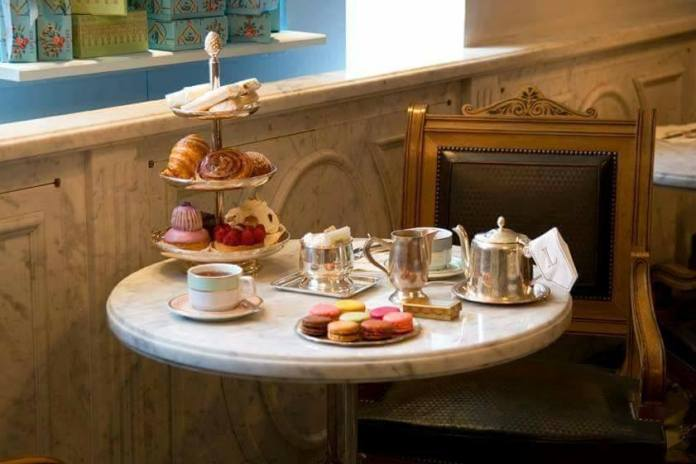 Ladurée Afternoon Tea, from €45 http://bit.ly/2Bk3xVd