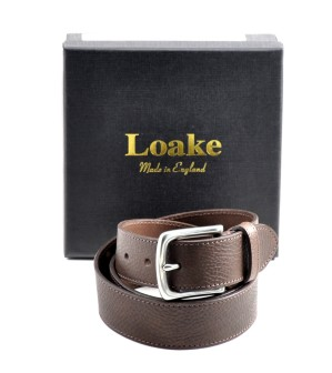 Loake Shoemakers, £65 - Alfred Leather Belt http://www.loake.co.uk/accessories/alfred.html