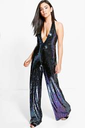 lois-all-over-sequin-halter-neck-jumpsuit